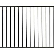 Stratco 4 Ft X 6 Ft Black Aluminum Ezi Fence Panels Sc 10760 The Home Depot Aluminum Black Depot Ezi Fence In 2020 Metal Fence Panels Fence Panels Metal Fence