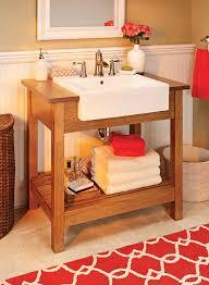 craftsman style sink stand