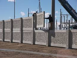 Fence Systems Precast Concrete Walls Stonetree Fences