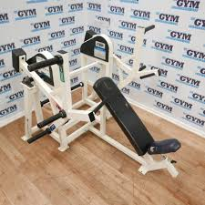 strive plate loaded incline chest press