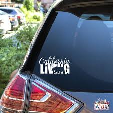 California Living Decal Socal Decal Norcal Decal Etsy