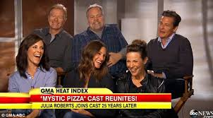 Mystic Pizza cast reunion discuss co-star Julia Roberts' rise to fame |  Daily Mail Online