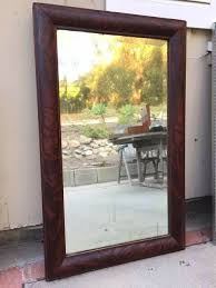 cherry mirror frame for