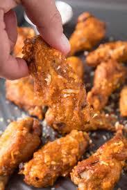baked garlic parmesan en wings