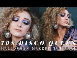 70s disco queen halloween makeup