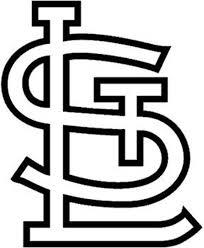 St Louis Cardinals Nbl Logo Sticker Vinyl Decal Wall Art 182 Etsy
