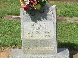 Myra Myers Robbins (1886-1955) - Find A Grave Memorial