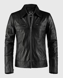 leather jackets crafted in italy