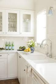 vintage glass door kitchen cabinet