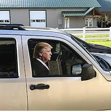 Amazon Com Donald Trump Right Decals Car Stickers Funny Window Easy Removal Leaves No Residue Peel Off Political Kitchen Dining