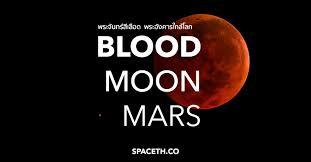 จันทรุปราคา จันทร์สีเลือด คู่ดาวอังคาร 28 กรกฎาคม สรุปทุกข้อมูล