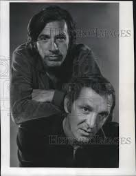 1968 Actors Adam Roarke and John Garwood | Historic Images