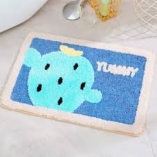 Amazon Com Yoha Kids Play Mat Rainbow Nursery Rugs Faux Wool Baby Crawling Mat Non Slip Area Rugs Doormat Home Decor Floor Rugs For Kids Room Living Room Bedroom Cactus Kitchen Dining