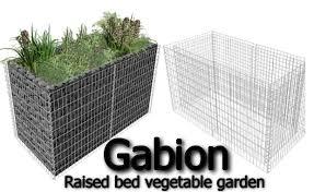 gabion raised garden beds