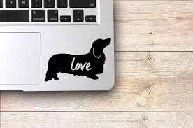 Long Haired Dachshund Decal Yeti Cup Decal Dachshund Lover Dachshund Silhouette Dachshund Gi Products Decals For Yeti Cups Dachshund Gifts Yeti C