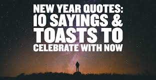 new year quotes sayings toasts to celebrate