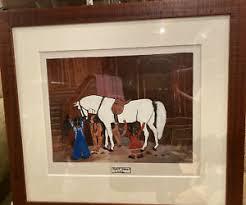 Addie James African American Folk Art Original   eBay