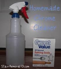 homemade chrome cleaner polish recipes