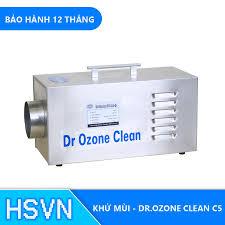 Máy khử mùi nhà xưởng, khu chế biến DrOzone Clean C5 [ HSVN TOÀN CẦU ]