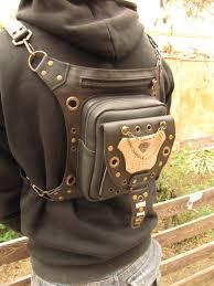 bag waist leather women thigh holster