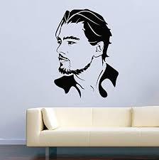 Amazon Com Vinyl Wall Decal Famous Person Movie Film Leonardo Dicaprio Home Decor Sticker Vinyl Decals Home Kitchen