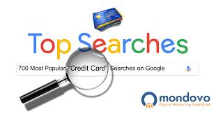 credit card keywords