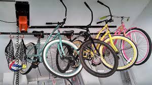 bike lift garage storage systems in