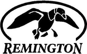 Remington Duck Logo Vinyl Cut Decal
