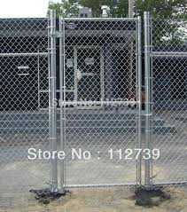 Wire Mesh Fence Gate Single Leaf With Chain Link Fence Panel Fence Retailers Gate Woodfence Alarm Aliexpress