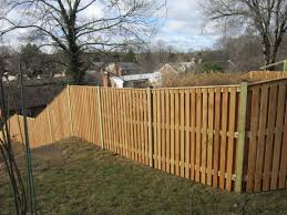 Board On Board Semi Private Wood Fence With Cap Board Wood Fence Backyard Fences Good Neighbor Fence