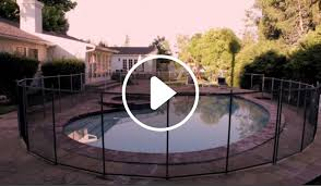 Pool Safety Fence Above Ground In Ground Pool Safety Fences Life Saver Pool Fence Systems