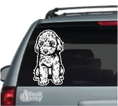 Poodle Car Decals Stickers Decal Junky