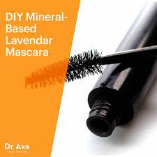 mineral based lavender homemade mascara