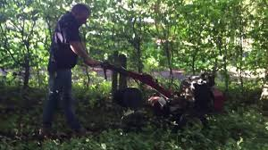 Dog Fence Installation Installing The Invisible Dog Fence Wire In Dense Woodland Youtube