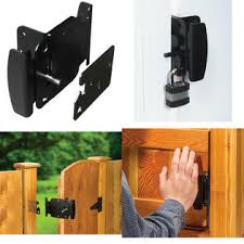 Fenix Flashlights Gate Latch Fence Gates Handle Latches Reversible Push Pull Open Activation 2 Way