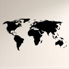 Trule World Map Wall Decal Reviews Wayfair
