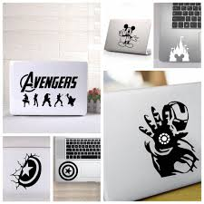 Universal Laptop Cover Sticker Avengers Ironman Cpt America Mickey Mouse Vinyl Ebay