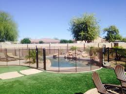 Mesh Pool Fence And Fencing Pool Barrier Of Arizona