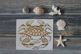 Crab Vinyl Car Decal Tribal Tattoo Filipino Ocean Sealife Sea Etsy Car Decals Vinyl Tribal Tattoos Bumper Stickers