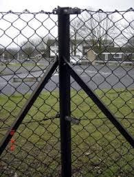Angle Iron Chain Link Post Jarrett Fencing