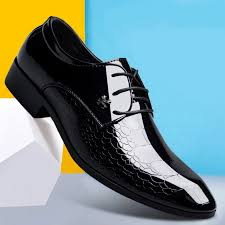black patent leather shoes formal