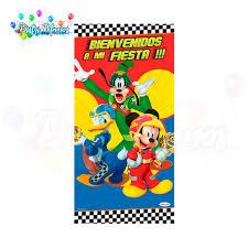 Afiche Metalizado Mickey Aventuras Sobre Ruedas Distrimemos
