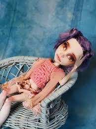 Ooak Custom Monster High Doll Repaint Delilah Sleepy Sister Etsy