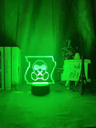3d Night Lamp Mute R6 Logo Colorful Led Nightlight For Kids Bedroom Decor Cool Game Event Prize Table Lamp Gift For Children Led Night Lights Aliexpress