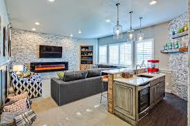 Seahawks Fan S Family Room And Space For Entertaining Studio Thomas Hgtv
