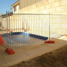China Removable Outdoor Metal Child Safety Pool Fence Factory And Manufacturers Hepeng