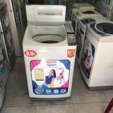Máy giặt cũ thanh lý Aqua 9kg new 80%