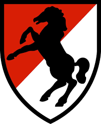 11th Armored Cavalry Regiment Patch Decal
