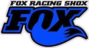 Fox Racing Shox Blue Tall Decal Nostalgia Decals Die Cut Vinyl Stickers Nostalgia Decals Online