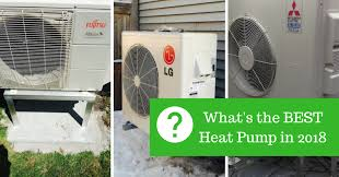 best ductless heat pumps for nova